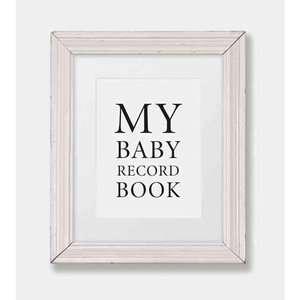 My Baby Record Book, Pq Blackwell Ltd Parenting