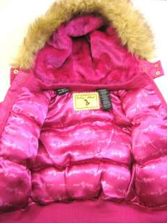BABY PHAT GIRLS JACKET COAT PINK SIZE 4 NEW WITH TAGS