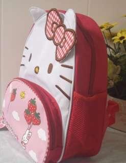 Super Cute Hello Kitty Design Baby Children Schoolbag Knapsack Picnic
