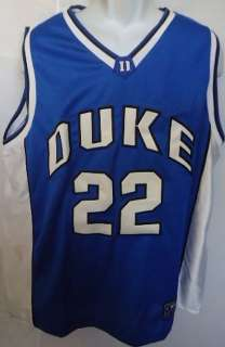 Duke Blue Devils 22 Basketball Jersey Shirt Top Adult XL Sewn Used As