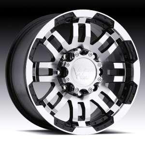 16 inch Vision Warrior Black Wheels Rims 5x135 +0