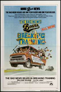 The Bad News Bears in Breaking Training Movie Poster