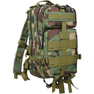 Camoufalge MOLLE Medium Transport Pack Military Camo Backpack