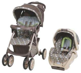Graco Spree Travel System Stroller/Car Seat   Bluegrass 047406106585