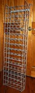 VINTAGE Large 85 Bottle Rack Coke Pepsi Rc 7up Dr Pepper Soda Machine