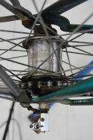 Vintage 1963 Columbia ladies middleweight bicycle bike teal fenders