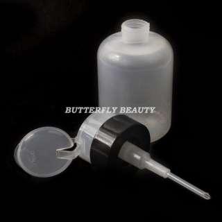 Empty Pump Dispenser Nail Art Polish Remover D11