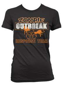 Outbreak Response Team Junior Girls T shirt Dawn Of The Dead Movies