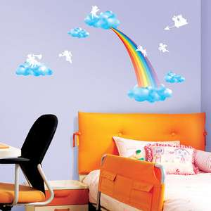 Angels KID Adhesive Removable Home Wall Decor Accents Stickers Decals