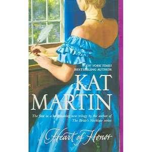 Heart of Honor, Martin, Kat Romance
