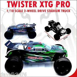 Racing Twister XTG PRO 1/10 Scale 2 Wheel Drive Electric Stadium Truck
