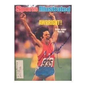 Bruce Jenner autographed Sports Illustrated Magazine (Track & Field