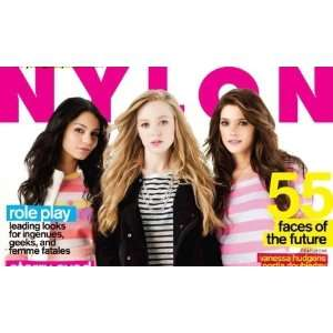 May 2009 Young Hollywood Issue Kat Dennings Nylon Magazine Books