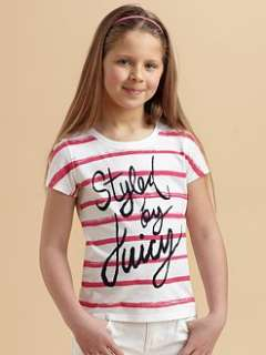 Juicy Couture   Girls Striped Tee