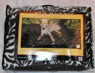 """Bow Wow Pet Bed Extra Large Fleece Dog Pet Bed 27"""" X 36"""" Animal"""