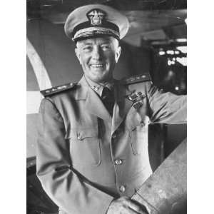 Adm. Richard E. Byrd in Uniform, Smiling Photographic