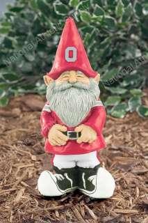... Ohio State Buckeyes Garden Gnome Figure Yard Statue New 033171540884 ...