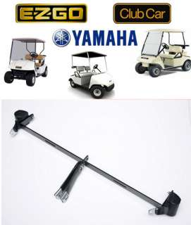 Golf Cart Seat Belt & Bracket Assembly (Retractable)
