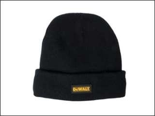 DeWalt DWC13001 Black Knitted Wool Hat DEWDWCKWH