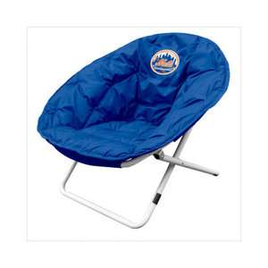 Logo Chairs MLB Sphere Chair   New York Mets Sports Fan