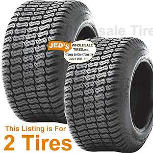 20x8.00 10 20/8.00 10 Riding Lawn Mower Garden Tractor Turf TIRES