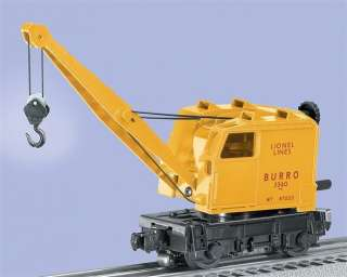 Lionel Train Lionel Lines Burro Crane 3360 Car 6 28414