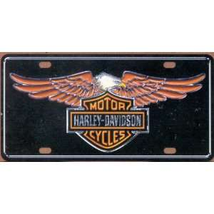 Chroma Decal 1841 Harley Davidson License Plate Tag