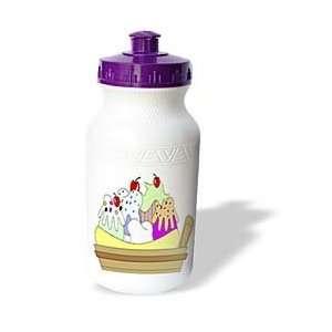 II   Banana Spilt Ice Cream Dish   Water Bottles