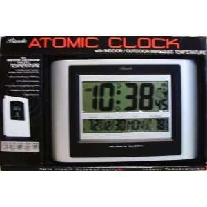 Atomic Clock with Indoor/outdoor Wireless Temperature: Electronics