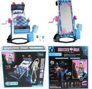 NEW Monster High Frankie Stein Doll Flip Bed with Mirror NIB