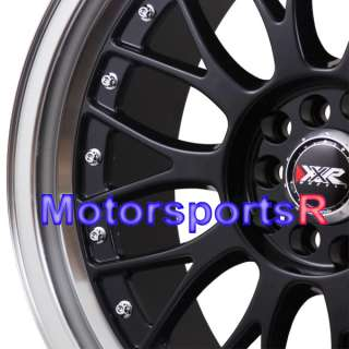 18 XXR 521 Black Machine Lip Rims Staggered Wheels 98 04 Ford Mustang