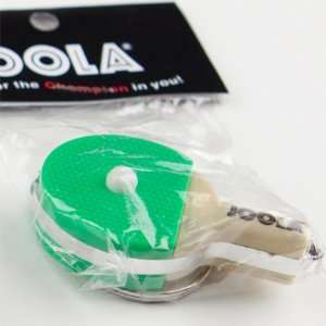 JOOLA Keychain Flashlight Table Tennis Gifts GREEN LED RACKET