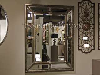 Lucinda Antique Silver Leaf Wall MIRROR