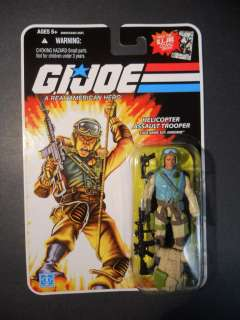 AIRBORNE GI Joe 25th Anniversary Wave 11 New 2008 Hasbro Comic Series