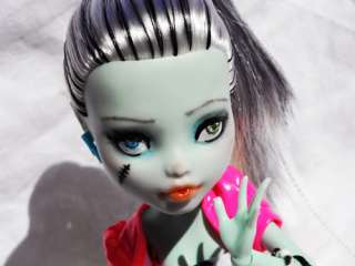 Monster High OOAK Custom Frankie Stein Dawn of the Dance