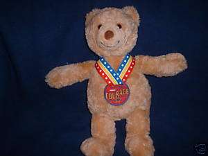 GUND 2003 WISH BEAR COURAGE TEDDY PLUSH STUFFED ANIMAL