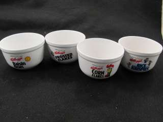 Set of 4 Kelloggs Cereal Bowls by Houston Harvest