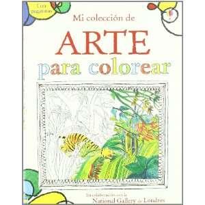 MI COLECCION DE ARTE PARA COLOREAR CON PEGATINAS