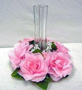 ~ Rose Petal PINK ~ Wedding Silk Flowers ~ Centerpieces Unity