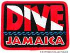 dive jamaica embroidered patch scuba diving flag logo iron on