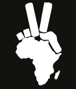 Africa Peace Sign Laptop love Car Decal Vinyl Sticker
