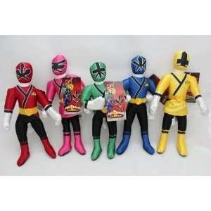 11 Power Rangers Samurai Blue Action Figure Plush Doll 5