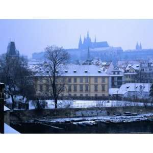 Mala Strana and Prague Castle from Charles Bridge, Prague