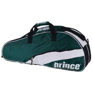 Prince 11 T22 Team 6 Pack Tennis Bag (Green/White) [Misc