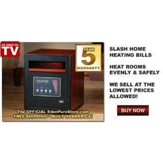 Gen4 Quartz Infrared Portable Heater, 5,000 BTUs