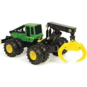 John Deere Log Skidder with Duals 1:50 Scale: Toys & Games