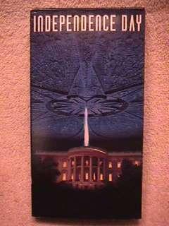 Independence Day VHS w/ Flicker Card V7 086162411830
