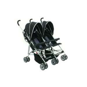 : Dream on Me Side By Side Twin Baby Stroller, Black: Everything Else