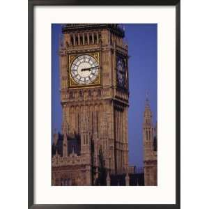 Big Ben Clock Tower, London, England Collections Framed